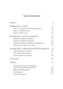 2 Table des matières